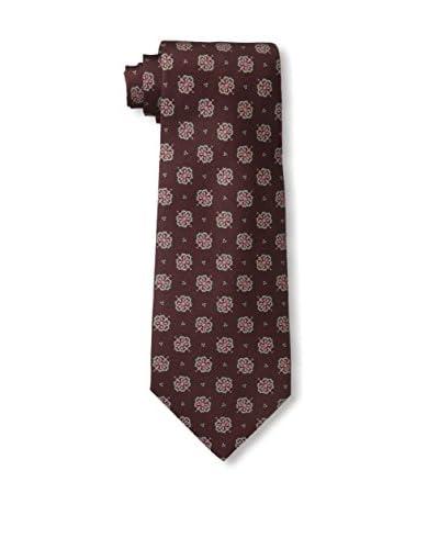 John Varvatos Floral Tie, Burgundy