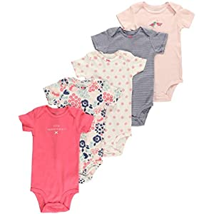 Carter's  5-Pc. Brights Bodysuit Set - Baby 0-24 Mos. - Pink - 18 months - Carter's