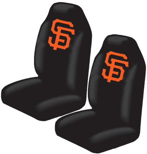 Bucket Seat Covers - Mlb Baseball - San Francisco Giants - Pair