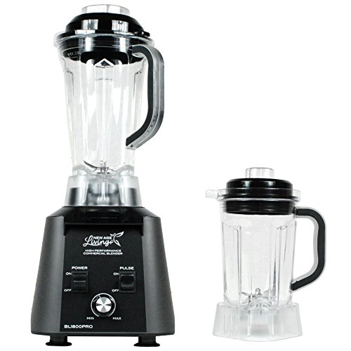 New Age Living BL1800 Commercial Grade Food & Smoothie Blender & Dry Jar (Smoothie Blenders Commercial compare prices)