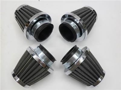 4-x60mm-spike-air-filter-intake-cleaner-for-kawasaki-atv-dirt-pit-bike-cruiser-honda-atv-dirt-pit-bi
