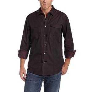 dark brown cowboy shirt