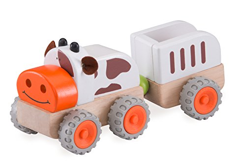 Wonderworld Moo Moo Tractor