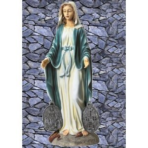 Best Price Virgin Mary Statue Home Garden Italian Style Sculpture (the  Digital Angel) Reviews