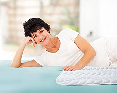 Best Defense Medical Grade Mattress Protector, Waterproof Bed Pad, Most Absorbent Enuresis Bedwetting Washable Incontinence Pads for Kids & Adults allows you to sleep tight with Maximum Protection