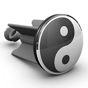 Waschbeckenstöpsel Yin und Yang, das Original von Plopp®, Qualität made in Germany