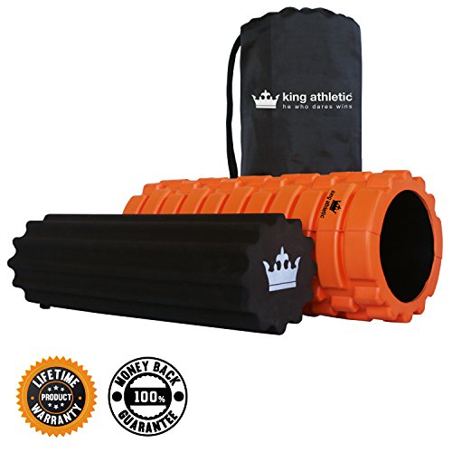 Read About Foam Roller :: 2 for 1 Offer :: Free Bonus Soft Foam Roller Plus Carry Case Included :: 1...