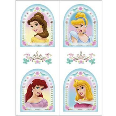 Princess Dreams Temp Tattoo