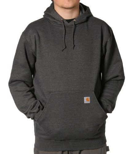 Carhartt K121 Hooded Sweatshirt Charcoal Grey Mens Hoodie