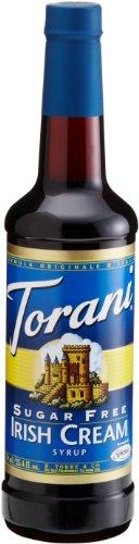 Torani Sugar-Free Syrup, Irish Cream, 25.4-Ounce Bottles (Pack of 3)