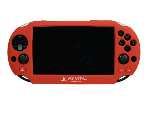 Ps Vita 2000 Silicone Skin - Red