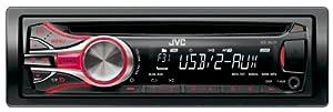 JVC KD-R431E Autoradio CD/mp3/WMA 1-DIN avec deux entrées AUX USB 4 x 50 W
