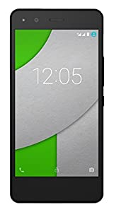 BQ Aquaris A4.5 - Smartphone de 4.5 pulgadas (WiFi, Bluetooth 4.0, GPS, Quad Core Cortex A53 1 GHz, 16 GB de memoria interna, 2 GB de RAM, Android 5.1 Lollipop), color negro