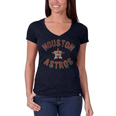 MLB Women's V-Neck Scrum Tee