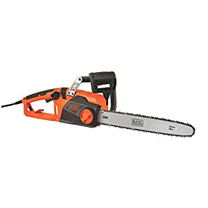 Black & Decker CS1518 15-Amp Corded Chainsaw, 18-Inch