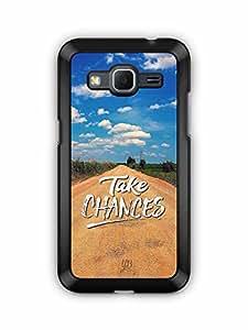 YuBingo Take Chances Designer Mobile Case Back Cover for Samsung Galaxy Core Prime
