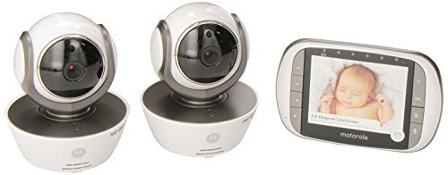 motorola mbp853connect 2 dual mode baby monitor with 2 cameras import it all. Black Bedroom Furniture Sets. Home Design Ideas