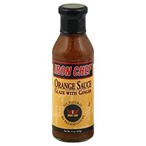 .com : IRON CHEF Orange Ginger Sauce 15.0 FO (Pack of 2) : Hot Sauces ...