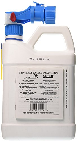 Monterey Garden Insect Spray With Spinosad Ready To Spray 32oz Home Lawn Gardening Disease Control