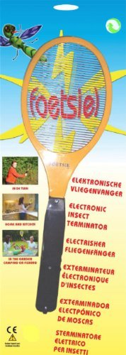 2 X Beco Elektrische Fliegenfänger/Erzeugt eine elektrische Spannung im Metallgitter/Anwendung im Haus und draußen/keine Giftstoffe /Zwei AA (1.5V) Batterien/nicht im Lieferumfang enthalten 860.00