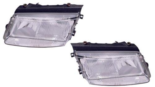 Volkswagen Passat Replacement Headlight Assembly (with Bulb) - 1-Pair (01 Vw Passat Headlight Assembly compare prices)