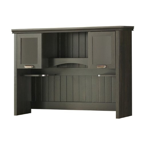 South Shore Furniture, Gascony Collection, Hutch, Ebony and Spice wood