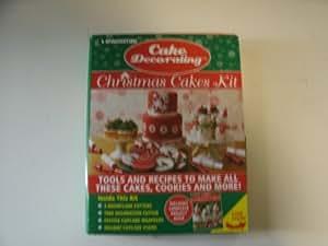 Cake Decorating Toy Kits : Amazon.com: DeAgostini Christmas Cake Decorating Kit: Toys ...