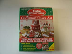 Amazon.com: DeAgostini Christmas Cake Decorating Kit: Toys ...
