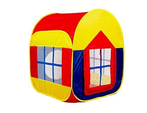 Zewik Large Space Play Tent Children Game Two-Door House for Indoor and Outdoor by Zewik günstig kaufen
