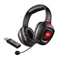Creative Sound Blaster Tactic3D Rage Wireless ゲーミング ヘッドセット HS-SBT3D-RAW
