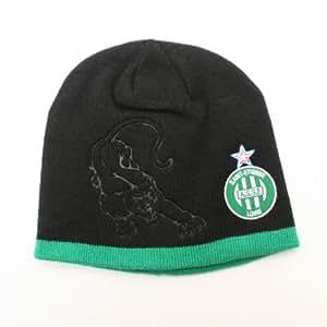 Bonnet ASSE - Collection officielle - AS SAINT ETIENNE - Football Ligue 1 - Taille unique adulte et ado