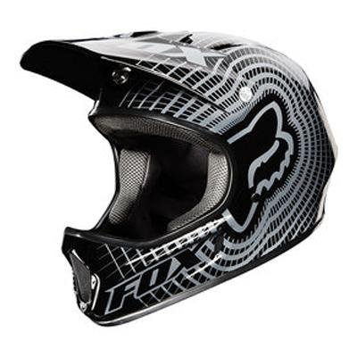 Image of Fox 2012 Rampage DH Bicycle Helmet - 20006 (B004VFKJRY)