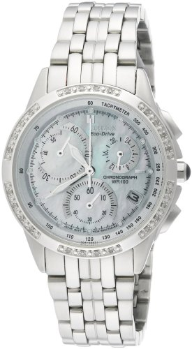 Citizen-Eco-Drive con zircone Calibro 4700 #FB 1090-57D-Orologio da donna