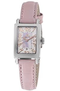 Gevril Women's 8048R Super Mini Quartz Pink Mother of Pearl Dress Watch from Gevril