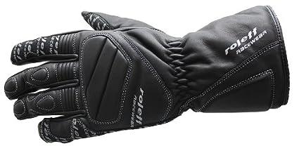 Roleff Racewear 802 Leather Gants RO 80, Noir, S