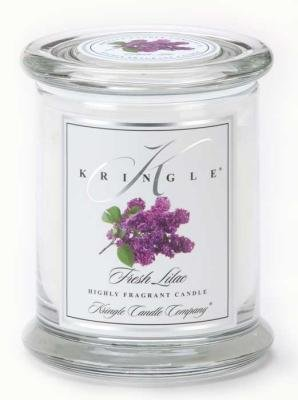 KRINGLE CANDLE Yankee Medium Classic Apothecary Fresh Lilac Jar
