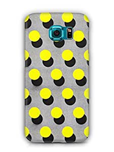 Cover Affair Polka Dots Printed Back Cover Case for Samsung Galaxy S7