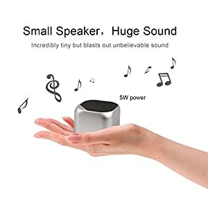 Bluetooth Speaker, SADES Q3 Portable Wireless Bluetooth Speakers, Wireless Speaker with Built-in Mic for iPhone, iPad, Smart Phone, Laptops and More