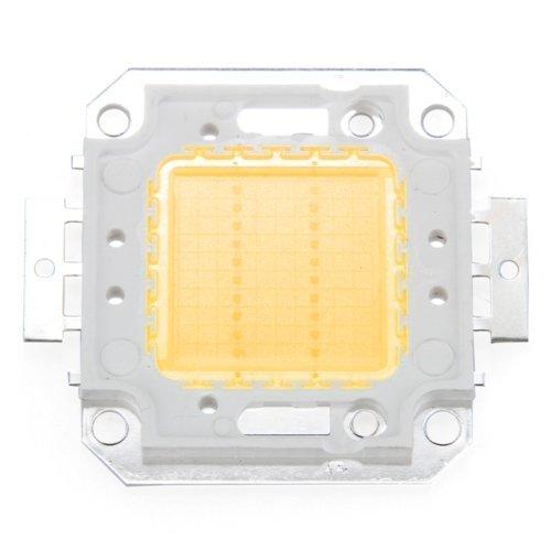Toogoo(R) 20W Warm White Led Ic High Power Outdoor Flood Light Lamp Bulb Beads Chip Diy