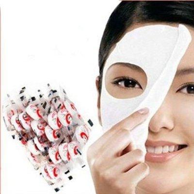 100 pcs Skin Face Care DIY Facial Paper Compress