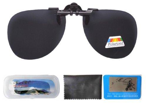 Eyekepper Aviator Sonnenbrillen-Clip Eyekepper Aviator Sonnenbrillen-Clip für Brillenträger Grau