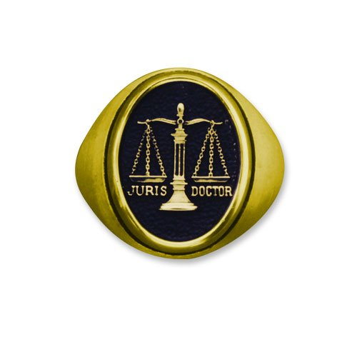 Women's Lawyer 14K Professional Ring (TPC Logo)