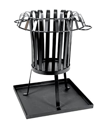 Large Ditchling Designs Fire Pit With Tray Rrp 8499 by Ditchling Designs