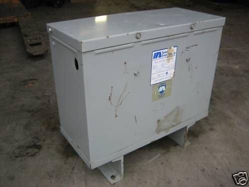 Acme Dtgb-011-2S 11 Kva Isolation Transformer 460/460Y/266V 3Ph 3R Dtgb0112S