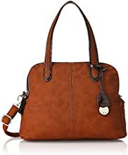 Gussaci Italy Women's Handbag (Brown) (GC030)