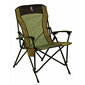 Browning Camping 8517114 Fireside Chair with Pro-Tec Powder Coating Finish