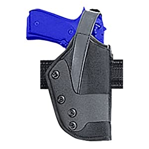 Uncle Mike's Law Enforcement Kodra Nylon Standard Dual Retention Jacket Slot Duty Holster (20, Right Hand)