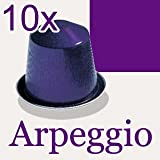 PACK OF 10 NESPRESSO ARPEGGIO COFFEE CAPSULES