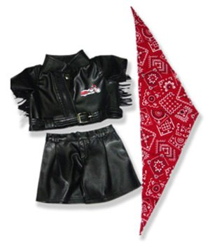 Biker Outfit Teddy Bear Clothes Fit 14