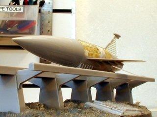 Space Ark Under Construction Conversion Set Model Kit Photoetch